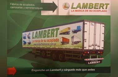 """Imágen de comercio: LAMBERT """"La Marca De Su Acoplado"""" REPRESENTANTE EXCLUSIVO CARLOS A. COCCO"""